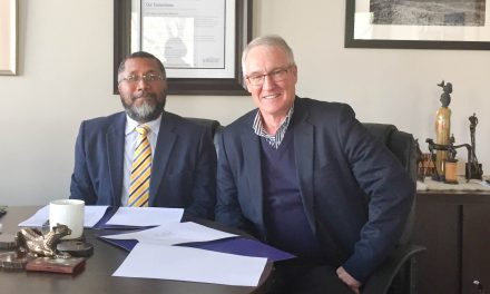 AHI signed a MOU with the Ethics Institute of South Africa