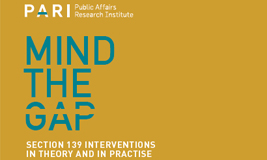 Mind the Gap – PARI