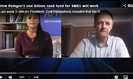 CNBC Africa: How Remgro's one billion rand fund for SMEs will work