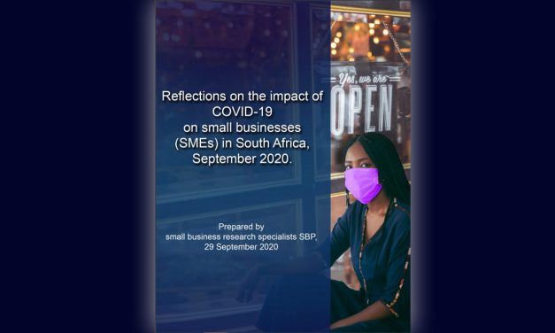 Reflections on the impact of COVID-19 on small businesses in South-Africa